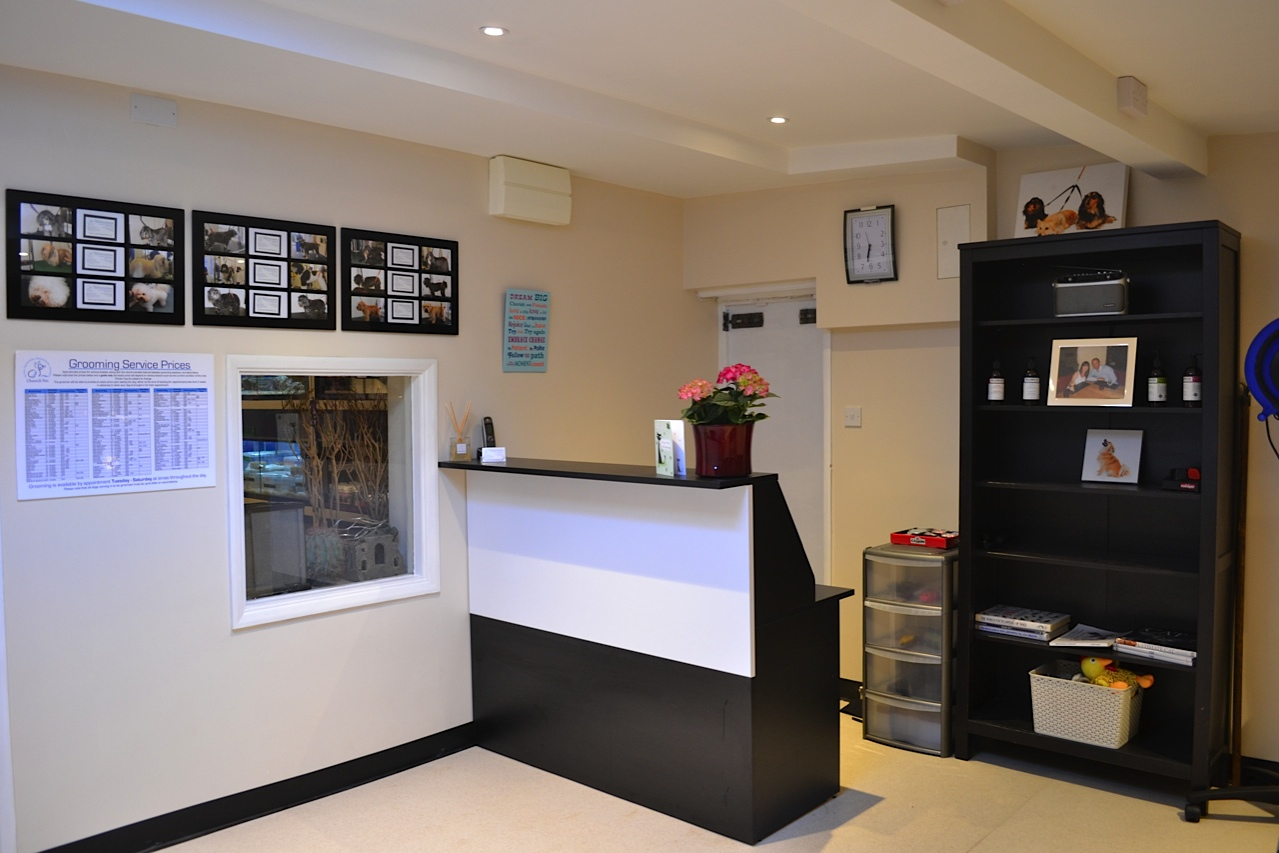 Photo korea home design images suginoi hotel beppu for Dog grooming salon floor plans